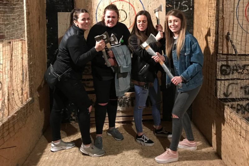 Axe Throwing in Krakow, Bumper Ball Experiences