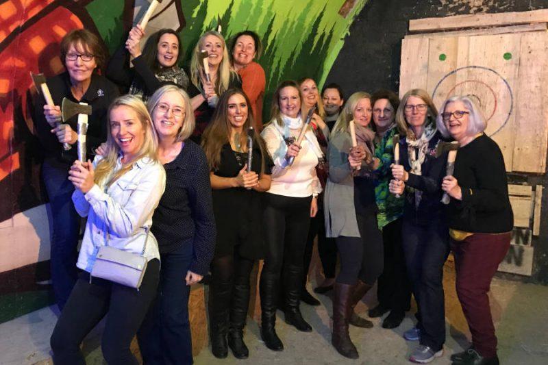 Axe Throwing in Krakow, Bumper Ball Experiences