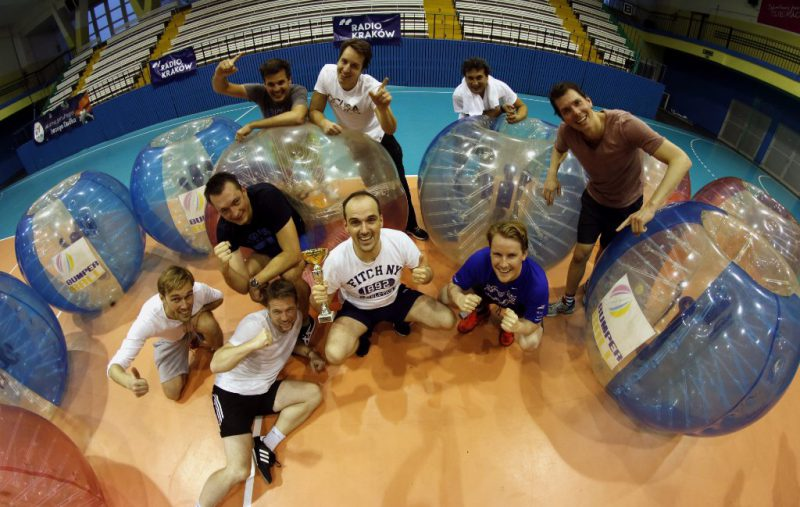 Bubble Football Tournament -...for Companies (Team Building)