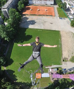 Bungee Jumping in Krakow, Bumper Ball