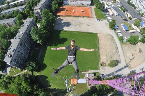 Bungee Jumping in Krakow, Bumper Ball