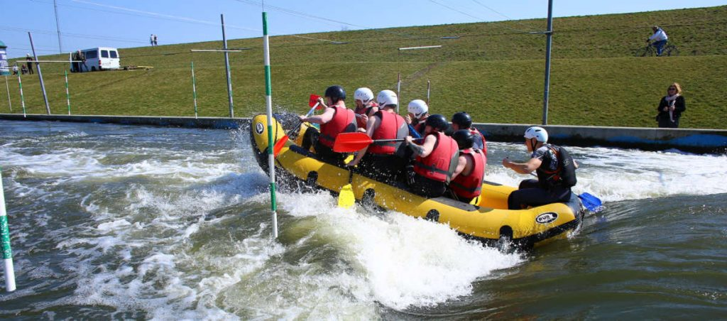 White Water Rafting in Krakow, Poland. Bumper Ball Experiences